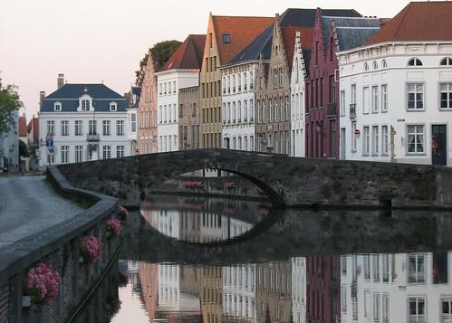 Brugge Canal & Bridge