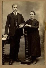 """Antonio """"El Pelón"""" y su señora"""