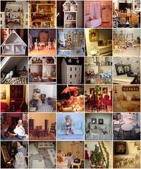 My dollshouses mosaique (Anna Amnell) Tags: houses house miniatures fdsflickrtoys dolls dollshouse nukkekodit miniatyyrit