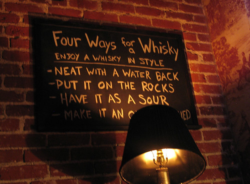 Four Ways for a Whisky