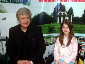 Daniel Brogin (Lenida) y su hija Josela en