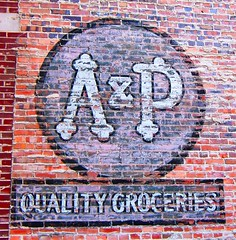 Champaign, IL A&P Quality Groceries (army.arch) Tags: sign illinois downtown il ap champaign grocerystore eastside redbrick paintedsign blueribbonwinner champaignillinois atlanticandpacific