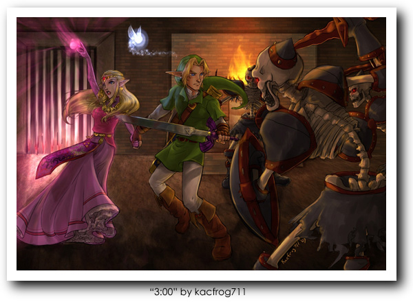 Link (Legend of Zelda) Art 11