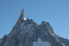 Dent du Géant (4013m) (CrazyBanana) Tags: france alps dent mountaineering geant 2007 mountainsalps elevation40004500m altitude4013m summitdentdugeant