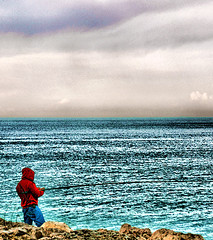 ||   || (|| F A T M A || ) Tags: sea sky beach photography fishing hdr fatma qatar seef alwakra qtr        b7r q6r