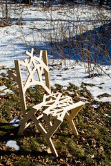 assembled but unfinished (nervous system) Tags: chair furniture cncrouter nervoussystem