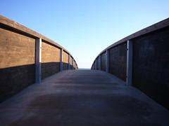 Mare in inverno - Winter sea (Alessio Cuccu) Tags: sardegna bridge winter sea mare sardinia ponte inverno colori posada simmetria alessio simmetry contrasto wintersea maredinverno cuccu alessiocuccu