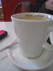 White (mackee_lee) Tags: white west london breakfast relax cafe tea telephone mug ealing refresh revive photogamercom alpannini