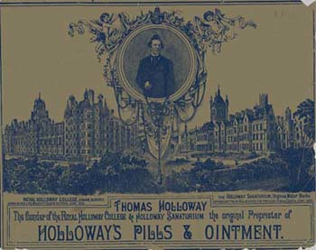 An advertisement for Holloway's Pills