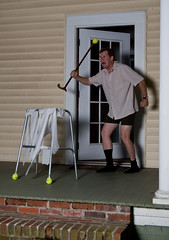 1029 of 365 (The Goat Whisperer) Tags: portrait halloween me self nikon flickr group days more prank roulette 365 players rogue speedlight alumni geezer trp fgr 365days strobist sb900