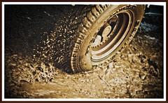 Race through MUD (R E B E L ) Tags: india rebel airport october jeep mud explore international splash hyderabad thrills hpc 2010 mws bws cfc cws andhrapradesh hws teamhwsphotowalk34 sandeepmv 121clicks 08884922253