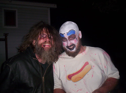 Rob Zombie and Captain Spaulding