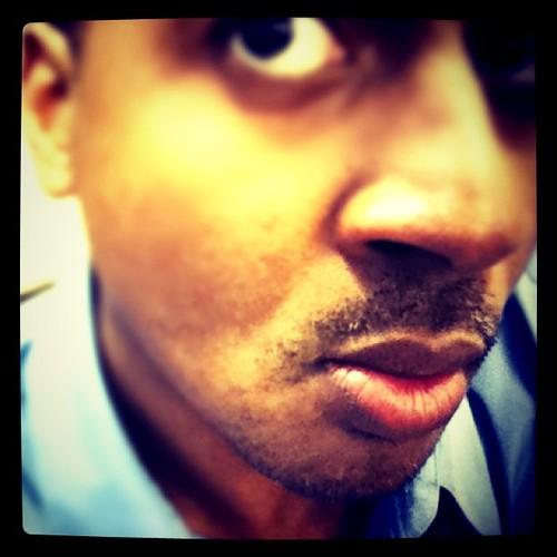 #movember day 4: I have an eye on my stache http://goo.gl/4bl0 #teamrdu
