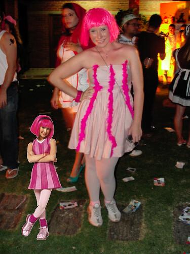 Raissa Starepravo - Halloween do Varanda's 06/11/10