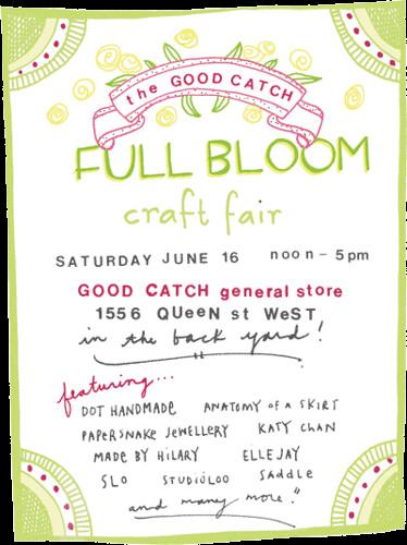 full-bloom craft fair