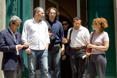 Italian bloggers meet Bruce Perens