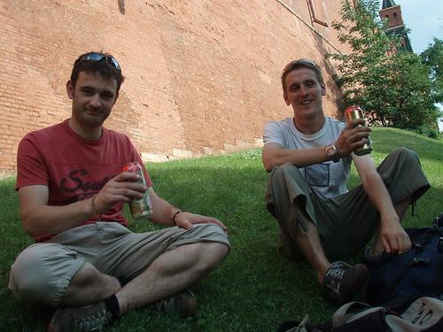 Mal and Rory, Kremlin Wall