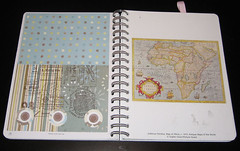 a card layout (udandi) Tags: art altered book calendar journal planner stampinup datebook udandi udandiandthecraftofmoney craftofmoney