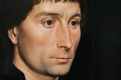 portrait of a gentleman (Benzadrine) Tags: nyc portrait woman art painting faith oil met renaissance metropolitanmuseum 15thcentury