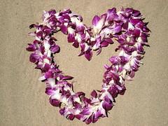 Aloha (Helene Orange) Tags: sand heart mauihawaii