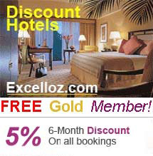 Hotel Discounts, Hotel Reviews, Travel Guides - Book Worldwide Hotels Online - Excelloz.com