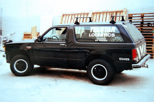 chevrolet car chevy blazer surplus s10 decommissioned telstarlogistics decommission e54129