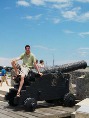 St Augustine, Florida (sparta_snooch) Tags: travel holidays cannons