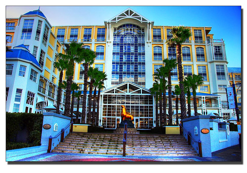 Table Bay Hotel, V&A Waterfront HDR por ifijay.