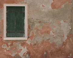 Peeling Paint and Window, Venice, Italy