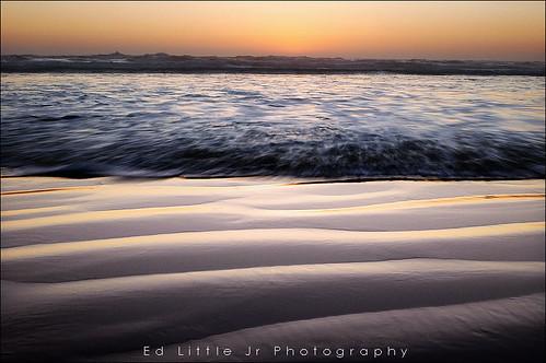 Rushing Water - Newport Beach Oregon