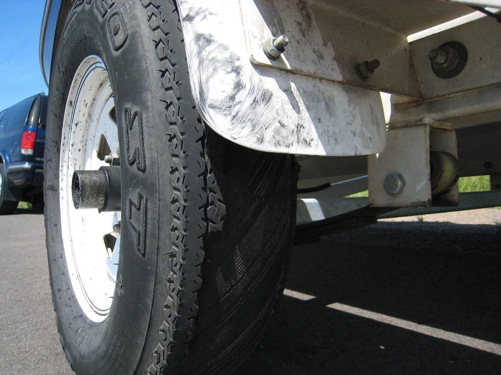 Failed Tire