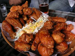 bon chon chicken, korean fried chicken, korea town ny fried chicken, fried chicken ny midtown