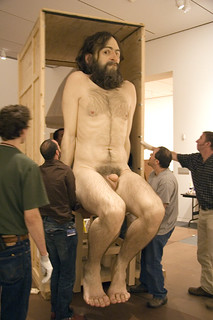 Ron Mueck Installation -