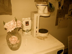 coffeepot (Brice Dean Sherrill) Tags: rose starbucks coffeepot