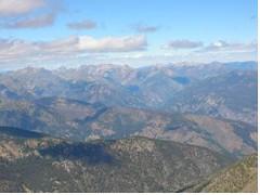 Pasayten Peaks from N. Gardner