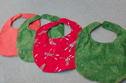 Simple Bib reverse sides