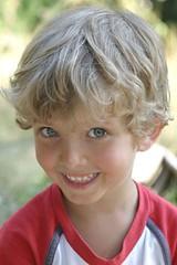 Catch a Smile! (MissSmile) Tags: boy summer cute smile children tim kid child top20childportrait happiness son glad blueribbonwinner iloveyoursmile