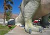 Cabazon Dinosaur Crushes Man (7584)