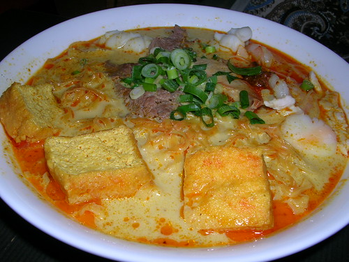 Laksa noodles (More like curry)