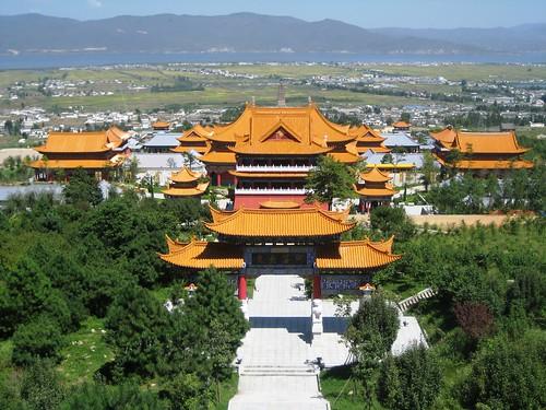 Three pagoda complex