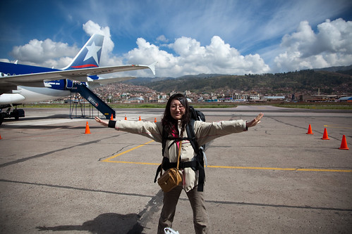 Arrived at Cusco Airport