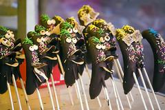 Choco Bananas (Bracus Triticum) Tags: winter food japan shrine chocolate january banana bananas 日本 fukuoka 2009 choco kyushu 九州 hakozaki 福岡県 一月 睦月 thebestofday flickrlovers 平成21年 筥崎神社