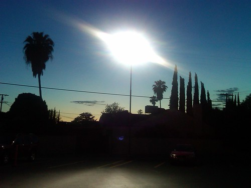 Sundown on Van Nuys