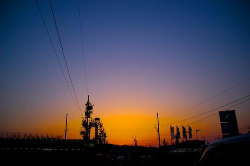 2010/05/16 今日の夕焼け