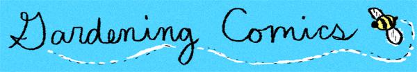 Gardening Comics Banner
