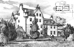 Woodside House, Beith, Ayrshire, Scotland