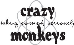 Crazy Monkey Atomic Logo