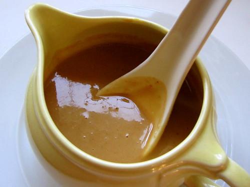 Cashew Butter Sauce