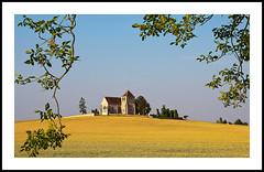 La Genevray (@lain G) Tags: france nikon champs iledefrance eglise seineetmarne céréales nikond90 francelandscapes lagenevray