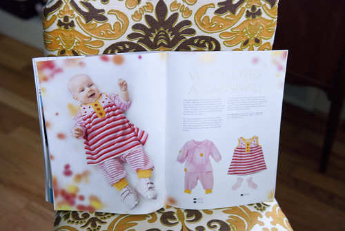 first ottobre magazine sewing project